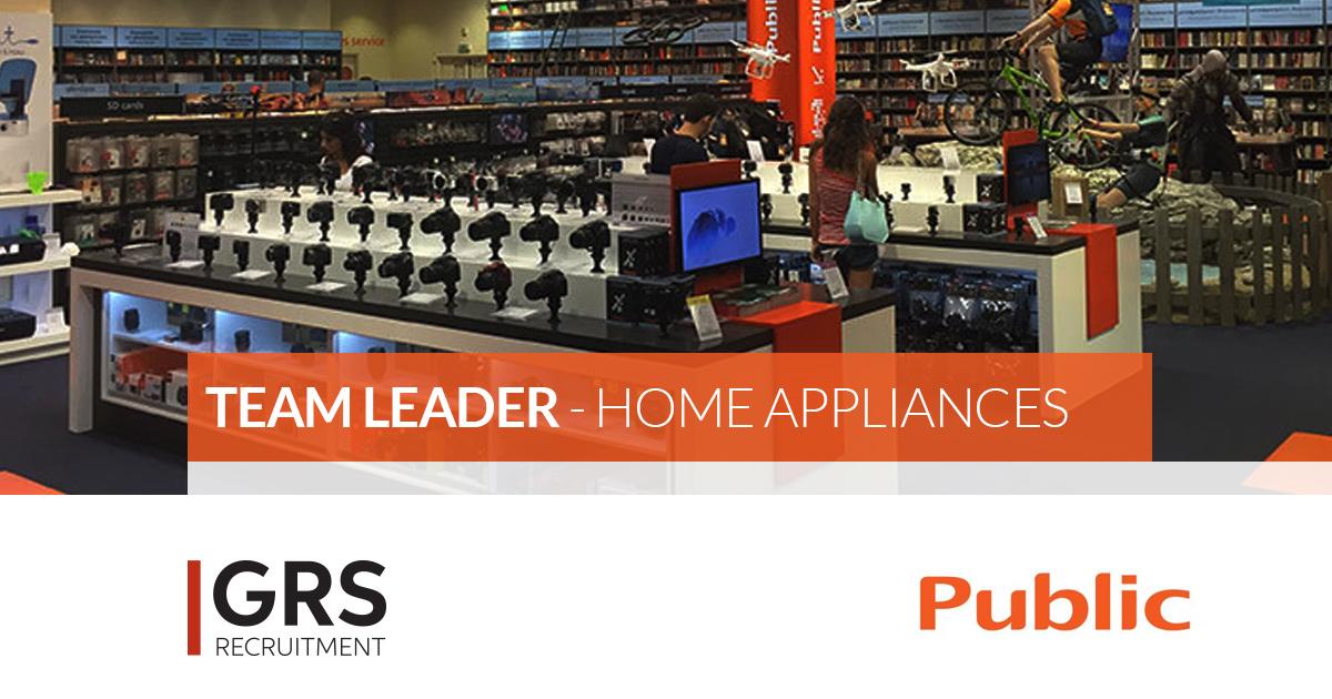 Sales Team Leader - Home Appliances