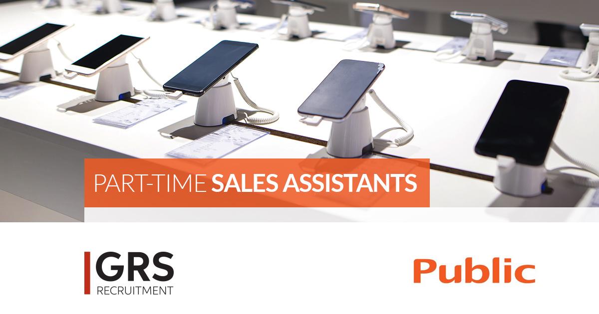 Part -Time Sales Assistant  - Home Appliances